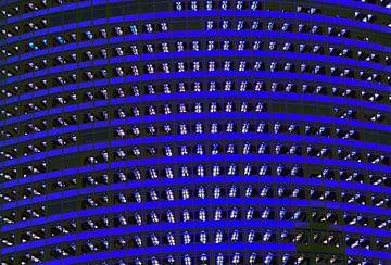 Büros in der Nacht von Gert-Jan Siesling
