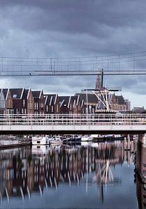 Haarlem bij ochtendlicht van