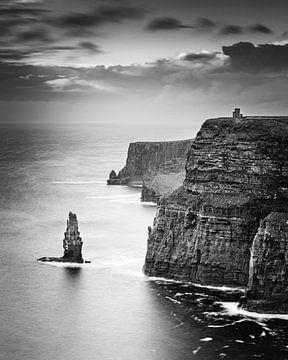 De kliffen van Moher in zwart-wit van Henk Meijer Photography