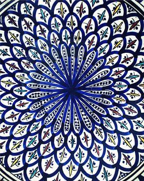 Marokkaanse tegel mozaïek van Jaap Ros