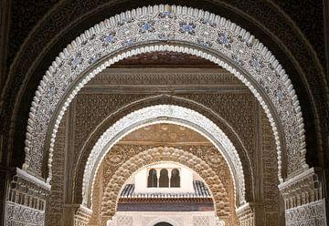 Alhambra - Gewölbe bei Patio de Los Leones von René Weijers