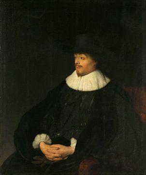 Porträt von Constantijn Huygens, Jan Lievens, um 1628 - um 1629