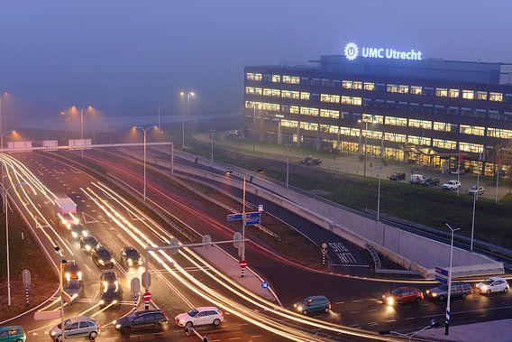Universiteitsweg en UMC Utrecht van Donker Utrecht