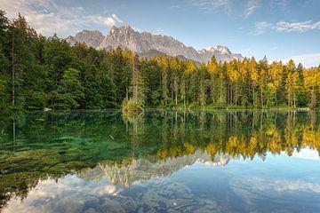 Badersee in Beieren van Michael Valjak