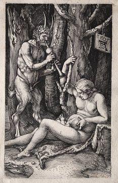 Familie Satyr, Albrecht Dürer von De Canon