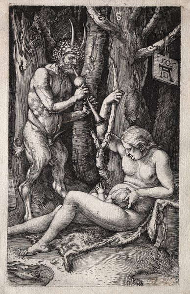 Satyr-familie, Albrecht Dürer van De Canon