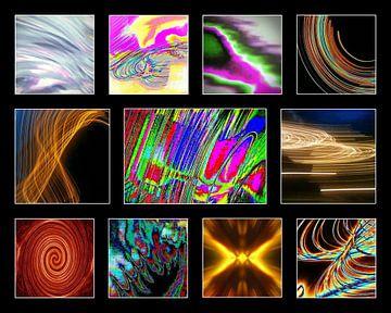 Lichtkunst von Henk Egbertzen