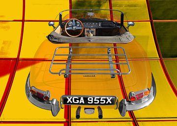 Jaguar E-Type Series 1 Roadster von aRi F. Huber