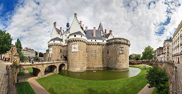 Panorama Château des ducs de Bretagne in Nantes van