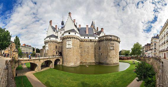 Panorama Château des ducs de Bretagne in Nantes