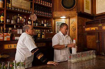 Hemingway Bar Havana, Bodeguita del Medio van arte factum berlin