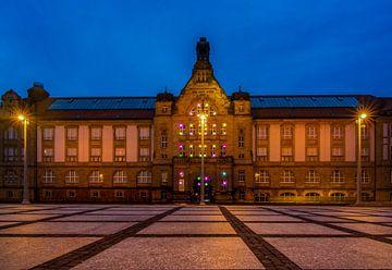 Chemnitz bei Nacht von Johnny Flash