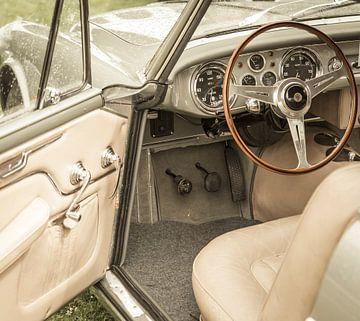 Interieur auf einem Maserati A6G 2000 Italienisches Coupe GT Auto von Sjoerd van der Wal