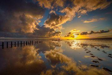 Sunrise Wierum von Arjen Dijk