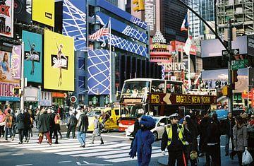 New York in kleur (analoog) von Lisa Berkhuysen