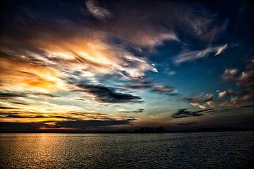 Sonnenaufgang in Wormer von Studio de Waay