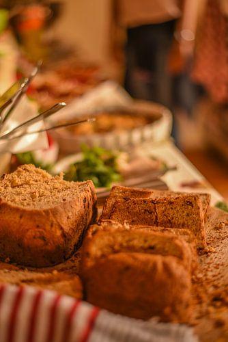 brood, italiaans,eten van
