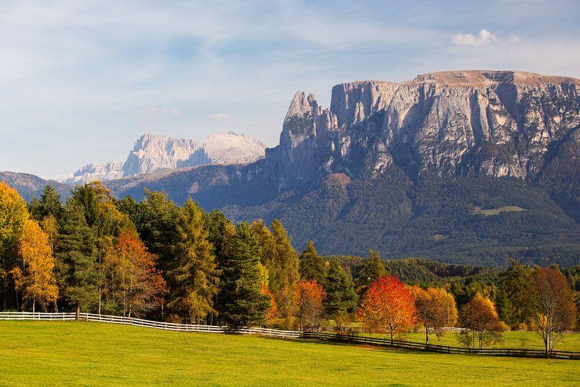 Herbst in Südtirol von Rudolf Brandstätter