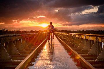 Moerputten Brücke von Christa Thieme-Krus