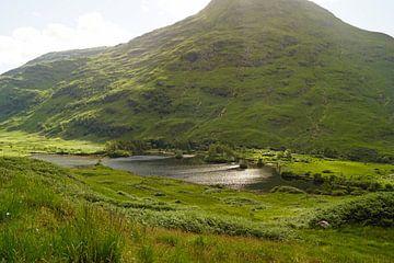 Berg im Glen Coe in Schottland. von Babetts Bildergalerie