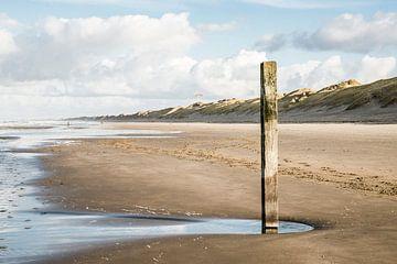 Strand bij Wijk aan Zee  von Corali Evegroen