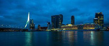 Rotterdam Leiter des Süd-Kreuzfahrtschiffes Erasmusbrücke von Marco van de Meeberg