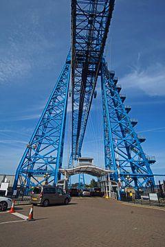 Middlesbrough transporter bridge von Babetts Bildergalerie