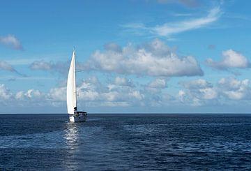 Ontspannen zeiltocht op de Caraïbische Zee van Margot van den Berg