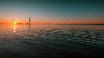 Oosterschelde zonsondergang 2 von Andy Troy