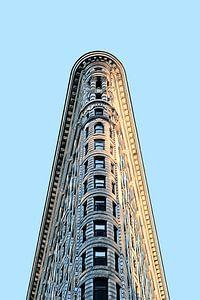 New York: Flatiron Building detail van Dutch Digi Artist