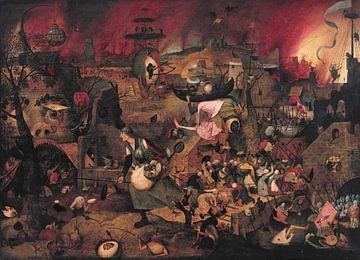 Dulle Griet, Pieter Bruegel sur