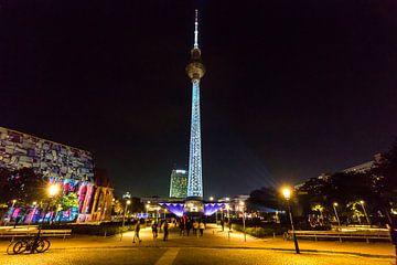 Fernsehturm Berlin - in besonderer Beleuchtung von Frank Herrmann