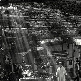 Marrakech - souks - markt in de oude stad van Carina Buchspies