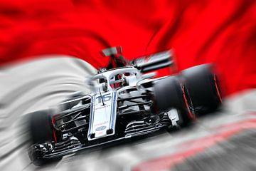 #16 Charles Leclerc - Monaco van Jean-Louis Glineur alias DeVerviers