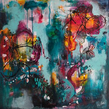 Follow Your Path van Flow Painting