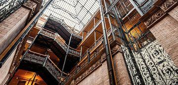 Los Angeles - Édifice Bradbury sur Keesnan Dogger Fotografie