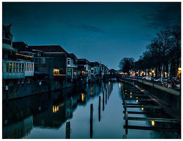 Gorinchem, Linge Haven. Old Harbour van Mariska Asmus