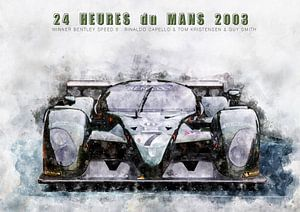 Le Mans winnaar 2003 van Theodor Decker