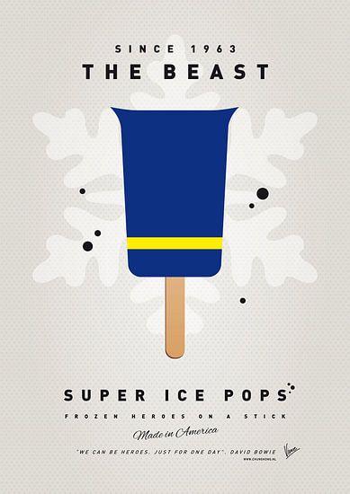 My SUPERHERO ICE POP - The Beast van Chungkong Art