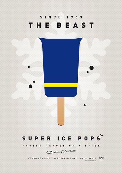 My SUPERHERO ICE POP - The Beast