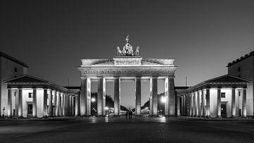 Das Brandenburger Tor bei Nacht von Mathias Möller