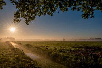 Zonsopkomst Ommerenveld von Moetwil en van Dijk - Fotografie