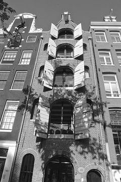 Grachtenbau Amsterdam von Marianna Pobedimova