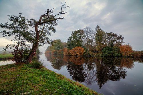 Herfst - Autumn in de polder van Leek Groningen