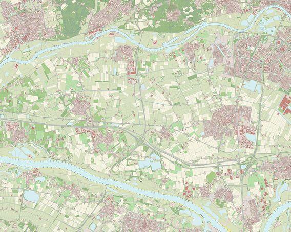 Kaart vanOverbetuwe