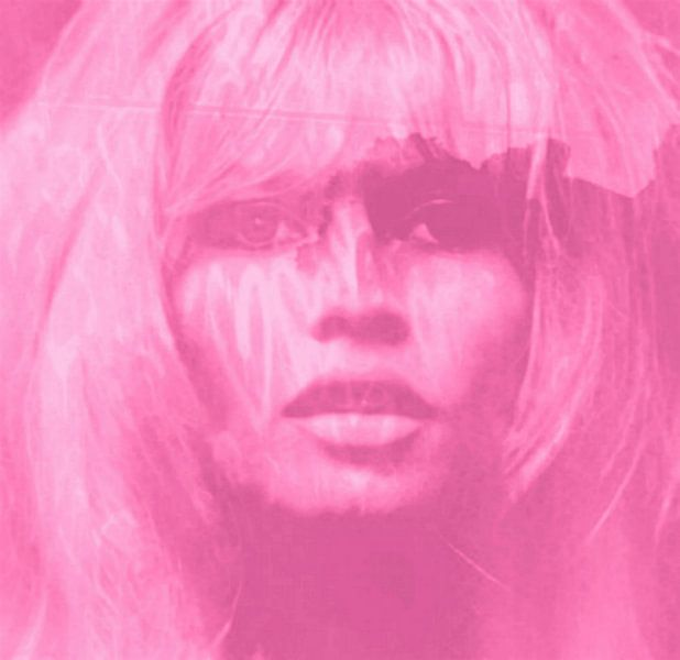 Brigitte Bardot Love - 24 colours Game - Pink van Felix von Altersheim