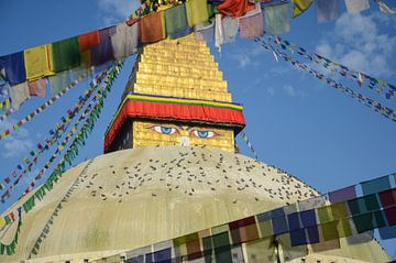 Boudhanath Stupa Kathmandu van Jeroen Smit