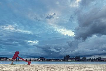 Ruskenveense strand sur Arthur de Groot