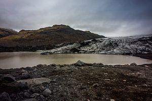 Gletsjer - Solheimajokull van