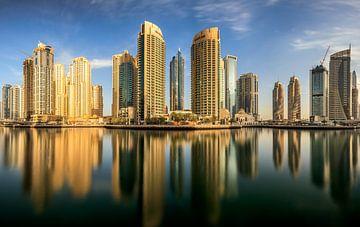 Panoramisch Dubai Marina, Mohammed Shamaa van 1x
